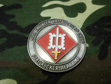 """United States Army Engineer Battalion CBT HVY """"TO ACHIEVE"""" Challenge Coin"""
