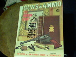 Guns & Ammo Oct 1962 The L:iving Legend that was Sam L Colt, Fall Hunting issue