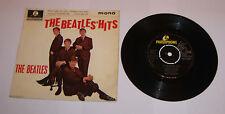 """The Beatles The Beatles Hits 7"""" Single EP Mono - VVG"""