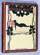 1920~1st~THE SLEEPING BEAUTY~C. S. Evans~ARTHUR RACKHAM ILLUSTRATED~SILHOUETTES.