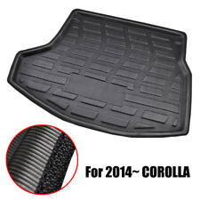 Rear Trunk Boot Mat Liner Cargo Tray Floor Carpet For Toyota Corolla 2014-2017