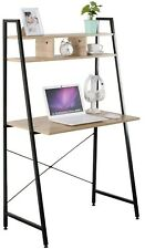 Home Office Computer Laptop Desk/Table 3 Shelves ( 31.5 x 18 x 56 Inches)