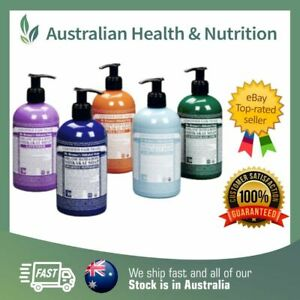 DR BRONNER'S ORGANIC HAND & BODY PUMP SOAP 710ML // CHOOSE VARIETY + FREE SAMPLE
