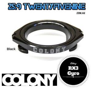 Colony Bmx RX3 Gyro Detangler BLACK 32gms