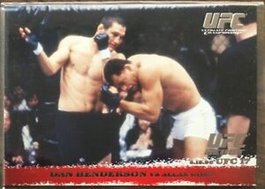 2009 Topps UFC Round 1 Dan Henderson /288 Rookie RC silver RARE