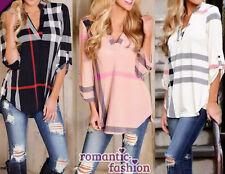 ♥ Größe 34-46 Damen-Pullover Bluse Shirt, Top Pulli in 3 Farben+NEU+SOFORT ♥