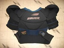 Bauer Sp 3000 Hockey Shoulder Pads Perfect Unused Condition Size Xl / Tg New ?