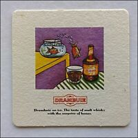 Drambuie on ice The taste of malt whisky with the surprise honey Coaster (B373)