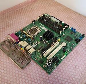 Dell Dimension 4700 Socket LGA775 DDR2 Motherboard With I/O Shield 0M3918 M3918