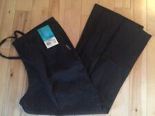 Landau Scrub Pant Flare Leg Style 8335 Nursing Uniform Medical Size L Black