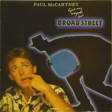 PAUL McCARTNEY 'GIVE MY REGARDS TO BROAD STREET' UK LP