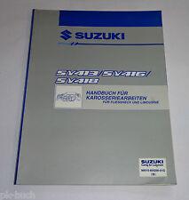 Werkstatthandbuch Suzuki Baleno SY 413 / SY 416 / SY 418 Karosserie, St.10/1996
