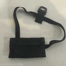 Survival Radio Communications Ear Bud Pouch Small Black