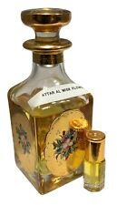 Attar misk Flor 12 Ml por Ajmal Alta Calidad aceite del Perfume Exclusivo Oferta!