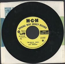 "RARE ROY ORBISON 45 7"" TWINKLE TOES / where is tomorrow PROMO MGM teen ROCK MOD"