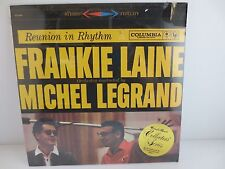 FRANKIE LAINE/MICHEL LEGRAND~Reunion In Rhythm~Factory Sealed Vinyl LP Re-Issue