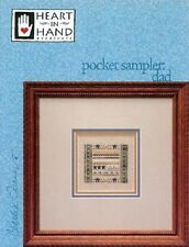 Pocket Sampler: Dad Cross Stitch Chart with Charm by Heart in Hand Needleart