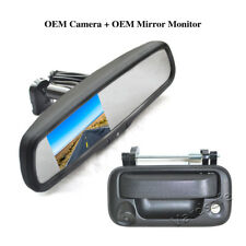 Backup Camera & Replacement Rear View Mirror Monitor for Ford F550 (2008-2016)