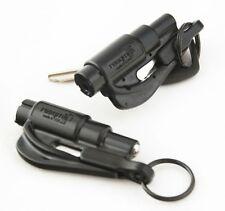 2 Pack New Resqme Escape Tools seatbelt cutter glass breaker Black