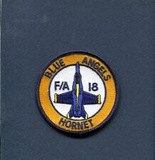 US NAVY BLUE ANGELS DEMONSTRATION TEAM F-18 HORNET Squadron Shoulder Patch