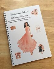 A5 Mother of the Bride - Wedding Planner, Notebook, Journal, Guide
