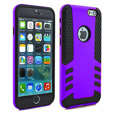 """NEW SHOCK PROOF DUAL LAYER BEE HIVE HARD BACK CASE COVER FOR APPLE iPHONE 6 4.7"""""""