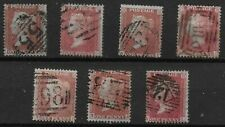 "1d.""Stars""(7) FU. Incl.SG29x3. All From N Row-Positions B,C,F,G,H,K,L.  Ref.1130"