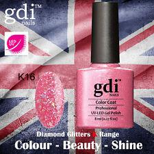 UK SELLER Gdi Nails Diamond Glitters K16 UV/LED Gel Soak Off nail polish