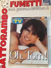 Tv Sorrisi e Canzoni N. 28 Anno 2000 Tom Cruise Mondadori Ottimo