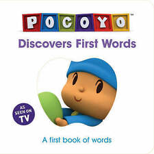 Pocoyo Discovers First Words: A first book of words,  | Board book Book | Accept