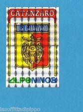 PANINI CALCIATORI 1985/86 -FIGURINA n.417- CATANZARO - SCUDETTO -Rec