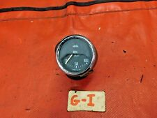 Triumph TR4, Jaeger Oil Pressure Gauge, Flat Glass, ORiginal, !!