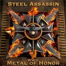 STEEL ASSASSIN-WW II: Metal Of Honor (US PRIVATE PRESS * us METAL * ORIGINALE)