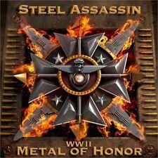 STEEL ASSASSIN - WW II: Metal of Honor (US PRIVATE PRESS*US METAL*ORIGINAL)