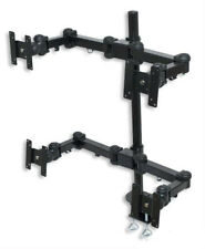 Tyke Supply Quad Monitor Stand up to 24 inch Monitors Model 04