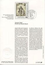FDC / PREMIER JOUR / ART / TABLEAU / JACQUES CALLOT NANCY 1992