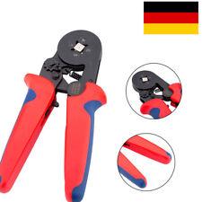 0,25-10mm² Crimp Zange Selbsteinstellend Zange Ratsche Aderendhülsen 175mm DE