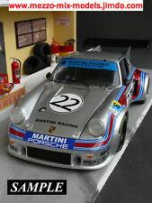 1/12 Porsche Carrera RSR Turbo Martini Transkit für Tamiya Porsche 934/935