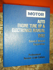 1989-92 MOTOR AUTO TUNE UP ELECTRONICS SERVICE MANUAL CADILLAC CHEVY BUICK OLDS