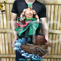 PT Studio Roronoa Zoro Statue Figurine Resin One Piece Model GK