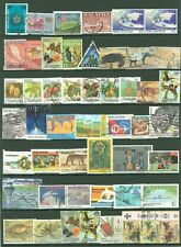 Collection C35 Malaysia used Art Fruits Animals Butterflies