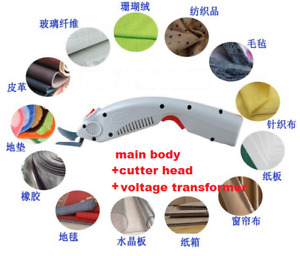 HOT electric fabric scissors cutter electric shears for cloth textile bags