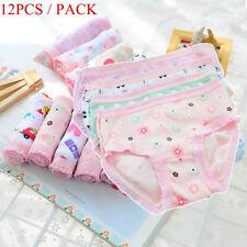 85c77a605762 12pcs/ Pack Baby Toddler Cotton Briefs Infant Girls Shorts Panties  Underpants