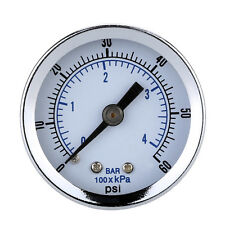 "1/8"" NPT Mini Pressure Gauge Air Compressore Idraulico Vacuum Manometro BAR:"