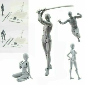 Drawing Action Figure Model Body Kun Chan Figuarts Mannequin Doll for Artist
