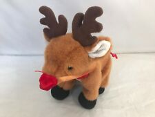 Build A Bear Workshop Special 2005 Holiday Reindeer Plush, Buddies with red nose