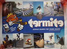 "RaRe. vintage Termite Skateboard poster 18x24"" Vhs promo Baker 90s 1990s teen"