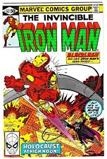 IRON MAN #147 (NM-) BLACKLASH Cover Story Appearance! 1981 Marvel Bronze-Age