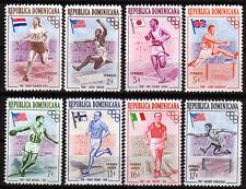 Dominikanische Rep. 560-67 **, Olympiade Sommer 1956
