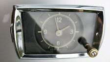 Perfect Working Handwind Vdo-Kienzle Clock For '50's Mercedes-Benz Ponton Models